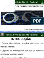 INVESTIGAÇÃO DE CRIMES CIBERNÉTICOS - Curso Sesge