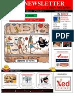 Current Affairs Newsletter 4th Feb - 10th Feb 2011