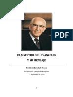 EL MAESTRO DEL EVANGELIO Y SU MENSAJE