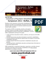 CPRE Symposium Flyer