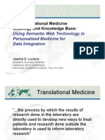 Joanne Luciano - The Translational Medicine Ontology and Knowledge Base