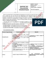 Rapport Devaluations Diagnostiques Said El Alami (1)