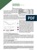 Market Notes April 13 Wednesday