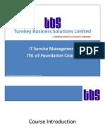 Turnkey_ITIL v3 Foundation_pdf version