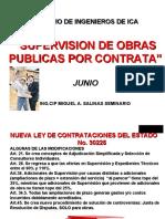 Supervision de Obra Cip Ica Junio 2015