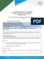 Guia de Actividades y Rúbrica de Evaluación Tarea 4