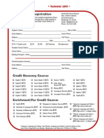 2011 Summer Online Academy registration form - FINAL