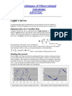 lightCurves