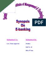 Ebanking Synopsis