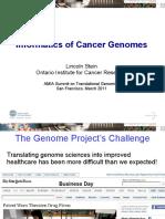 Lincoln Stein - Informatics of Cancer Genomes