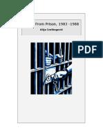 Notes From Prison, 1983 -1988, By Alija Izetbegović [Alija Izatbegovic]