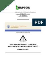 PET recycling report 2009