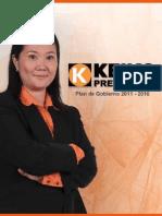 Plan de Gobierno Keiko Fujimori 2011-2016