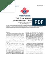 SPE-2003-203-Analisis del error PVT para los calculos de Balance de Materiales