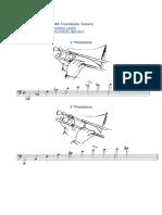 Le 7 posizioni del Trombone Tenore