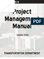 2006ProjectManagementManual