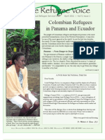 The Refugee Voice — Colombian Refugees in Panama and Ecuador