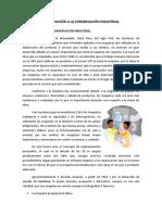 INTRODUCCIÓN A LA CONSERVACIÓN INDUSTRIAL (unidad I Mantenimiento)