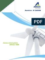 Aeolos-H 50kW brochure