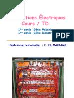 Constructions Électriques Cours _ TD