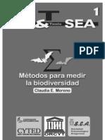 Métodos para medir la biodiversidad