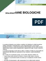 0201-Le Membrane Biologiche