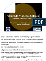 Taller manchas solares