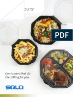 Creative Carryouts Brochure - Fall 2010