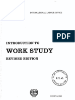 Intro to Work Study - ILO - George Kanawaty