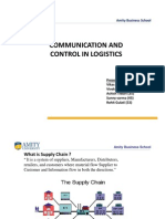 Communication and Control in Logistics DLMppt by Vikas