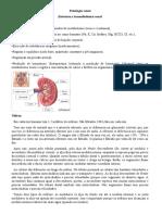 Fisiologia renal e endócrina