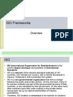 ISO Frameworks
