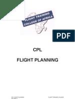 CPL FLIGHT PLANING