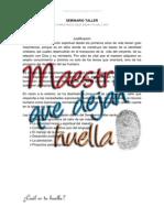 SEMINARIO TALLER maestros que dejan huella escuela dominical