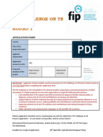 FIP TB Challenge - Grant for Student Organizations