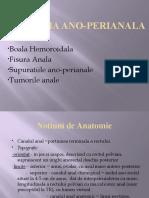 Patologia ano-perianala