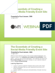 20110414_MPI WEBINAR_Creating Social Media Friendly Event Sites