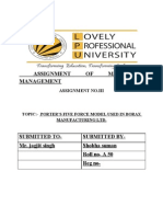 ASSIGNMENT OF MARKETING MANAGEMENT