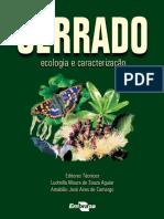 CERRADO 'Ecologia e Caracterizacao'