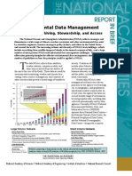 Environmental Data Management at NOAA, Report In Brief