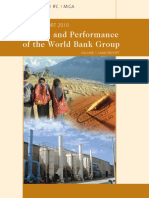 Results and Performance 2010