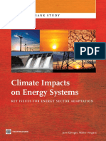Climate Impacts on Energy Systems