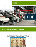 Introducción Papel Elaboración Pasta Papel