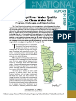 Mississippi River Water Quality and the Clean Water Act, Report In Brief