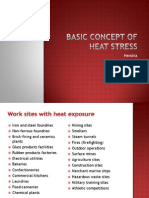 Basic Concept of heat stress