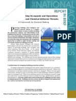 Protecting Building Occupants and Operations From Biological and Chemical Airborne Threats, Report In Brief