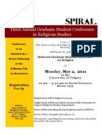 2011 Spiral Conference Poster 2
