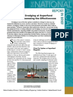 Sediment Dredging at Superfund Megasites, Report In Brief