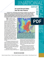 National Land Parcel Data, Report In Brief