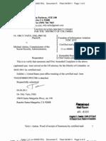 TAITZ v ASTRUE - 5 - RETURN OF SERVICE/AFFIDAVIT of Summons and Complaint - Gov.uscourts.dcd.146770.5.0